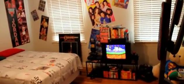 la chambre parfaite des ann es 90. Black Bedroom Furniture Sets. Home Design Ideas